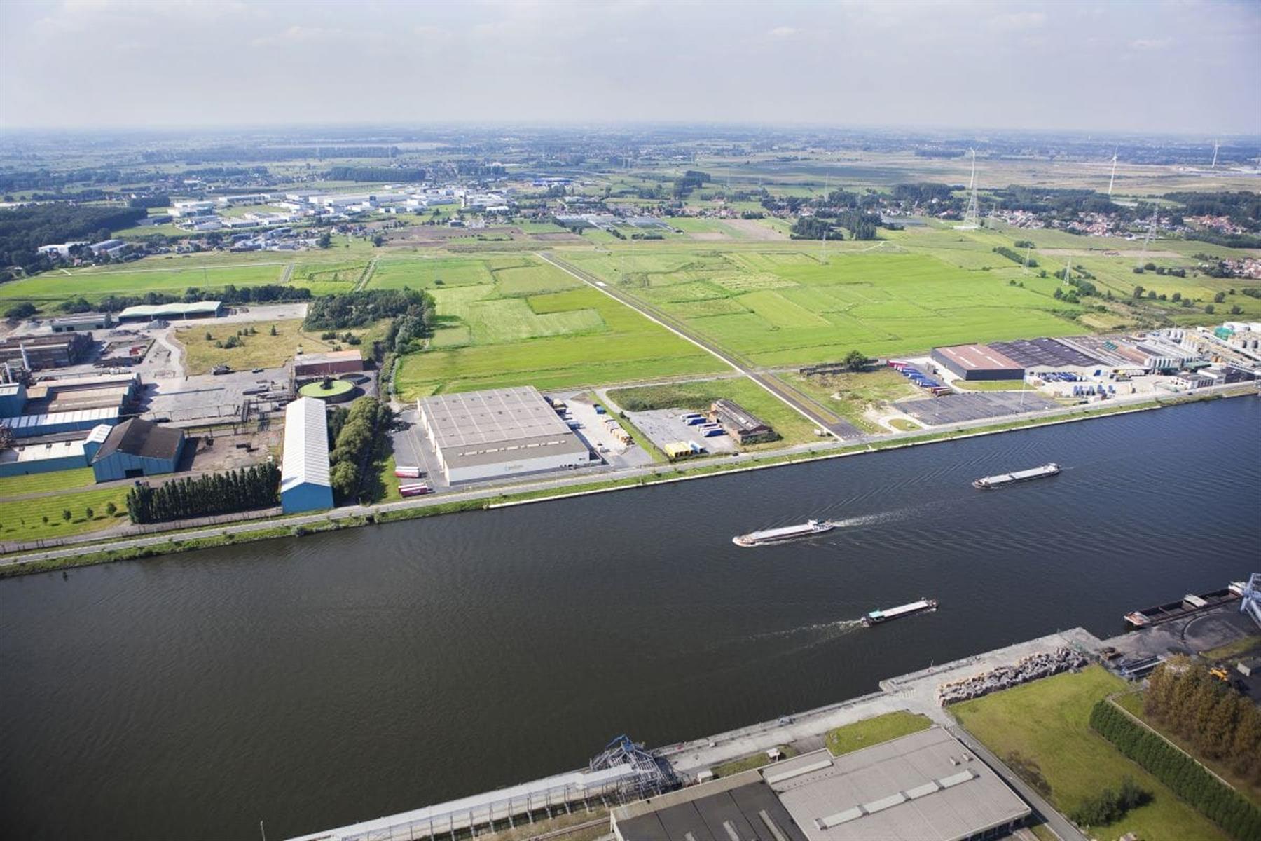 Industrieel terrein te koop Perceel 3 Langerbruggekaai