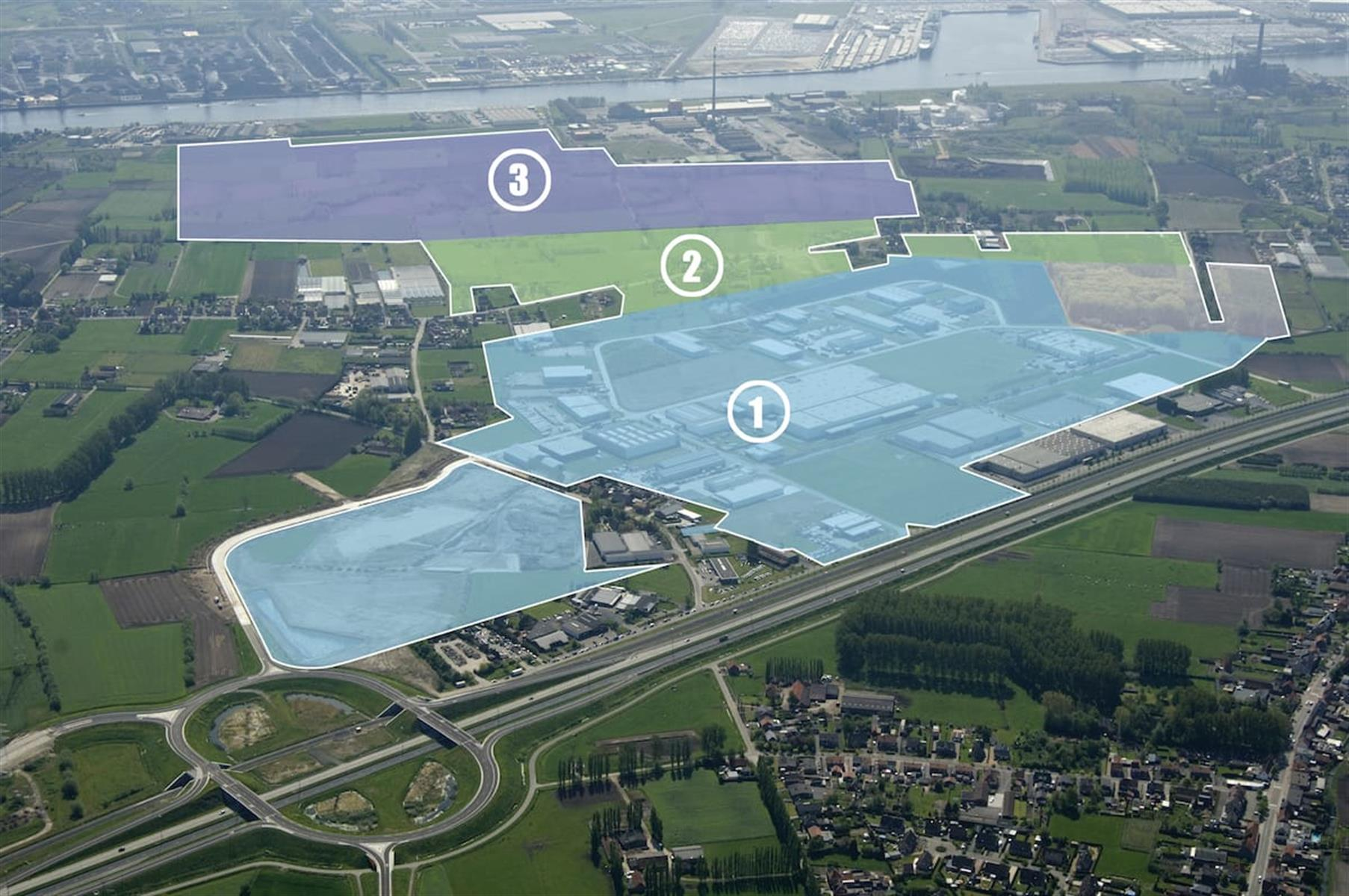 Industrieel terrein te koop Perceel 1 - Langerbruggekaai , 9000 Gent, België 2