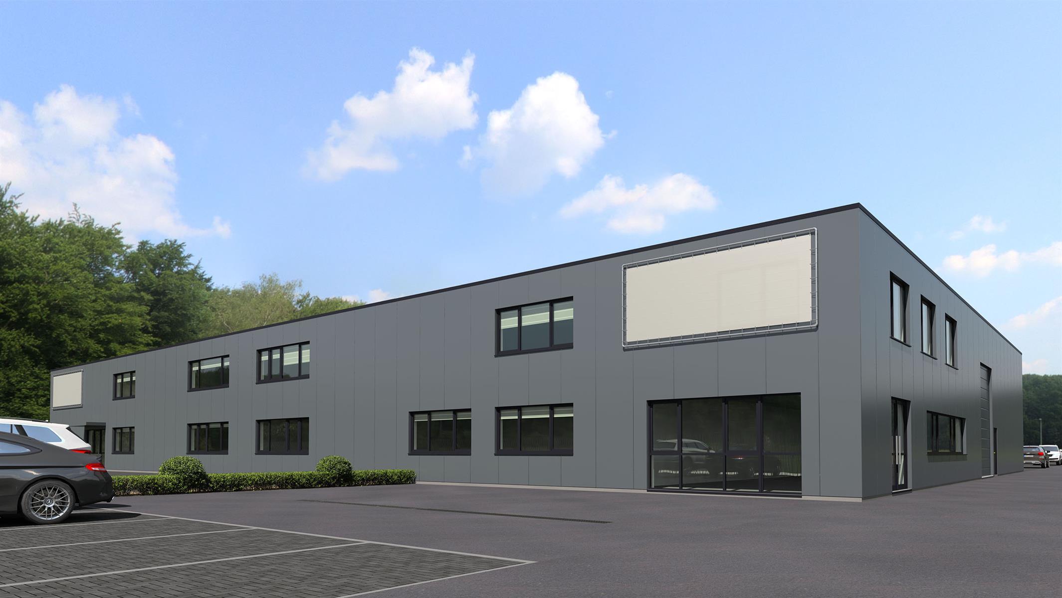 gebouw voor gemengd gebruik te huur Magazijn met kantoor en buitenterrein/RENOVATIE Toekomstlaan 113