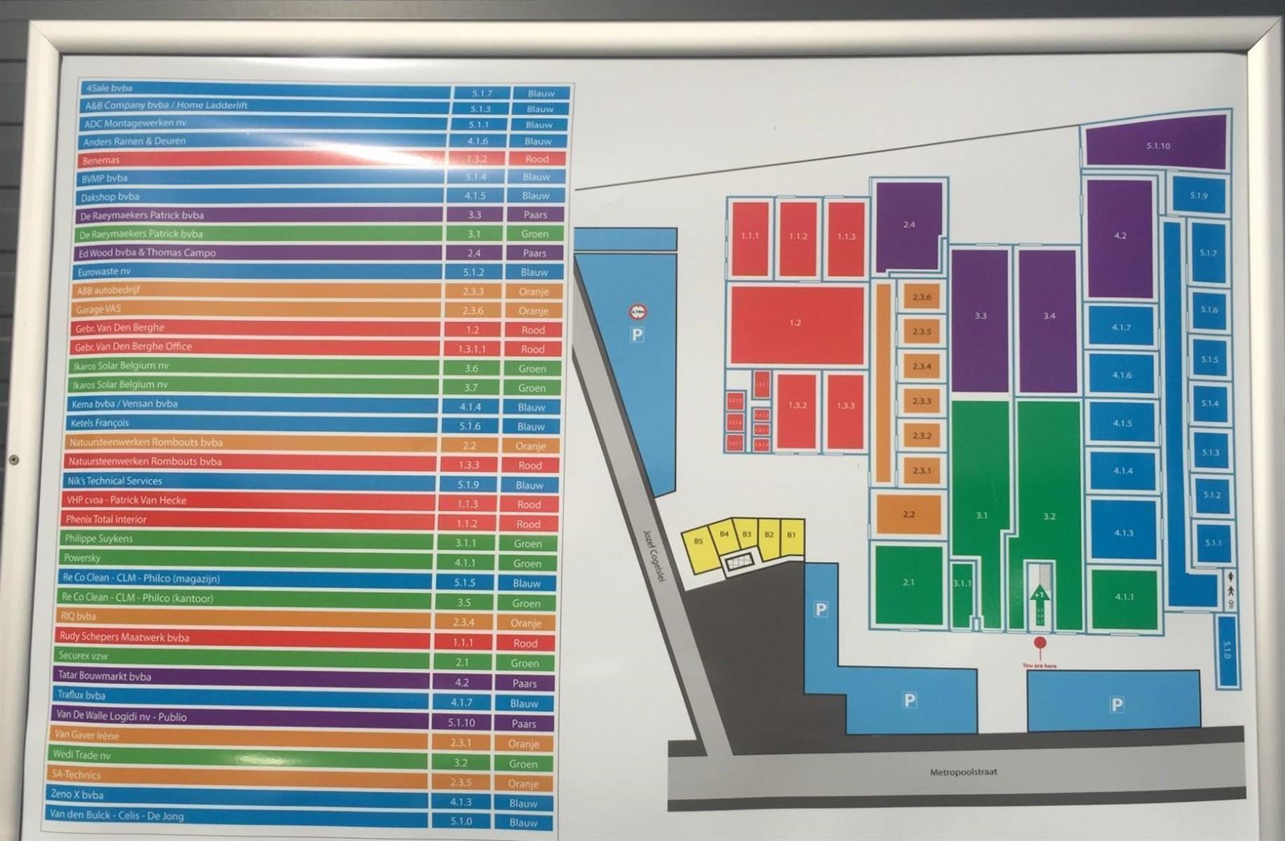 KMO-unit te huur Unit 5.1.4 - Metropoolstraat 30, 2900 Schoten, België 5
