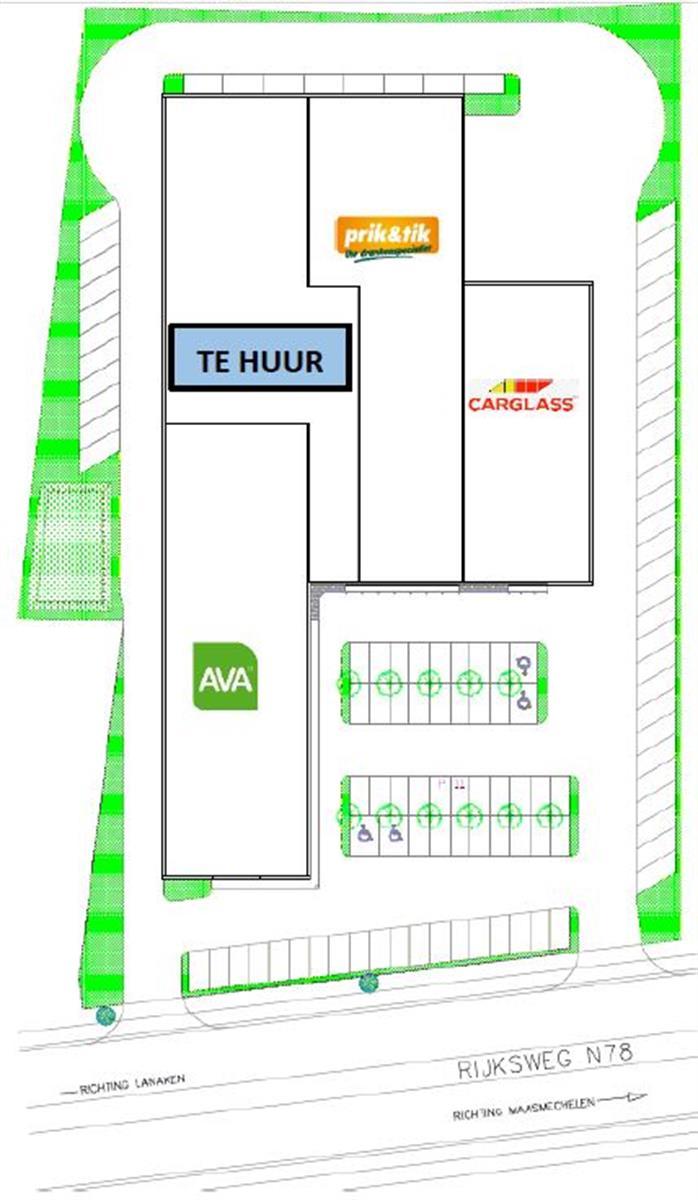 opslagplaats te huur Opslagruimte Handelsruimte Te Huur - 3630 Maasmechelen, België 7