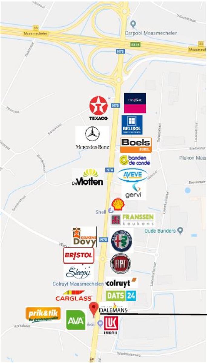opslagplaats te huur Opslagruimte Handelsruimte Te Huur - 3630 Maasmechelen, België 6