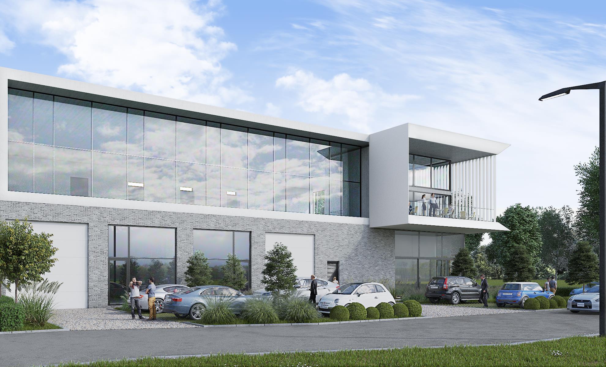 industrieel gebouw te huur NIEUWBOUW KMO UNIT/KANTOOR MET MAGAZIJN/806m²) - 3200 Aarschot, België 4