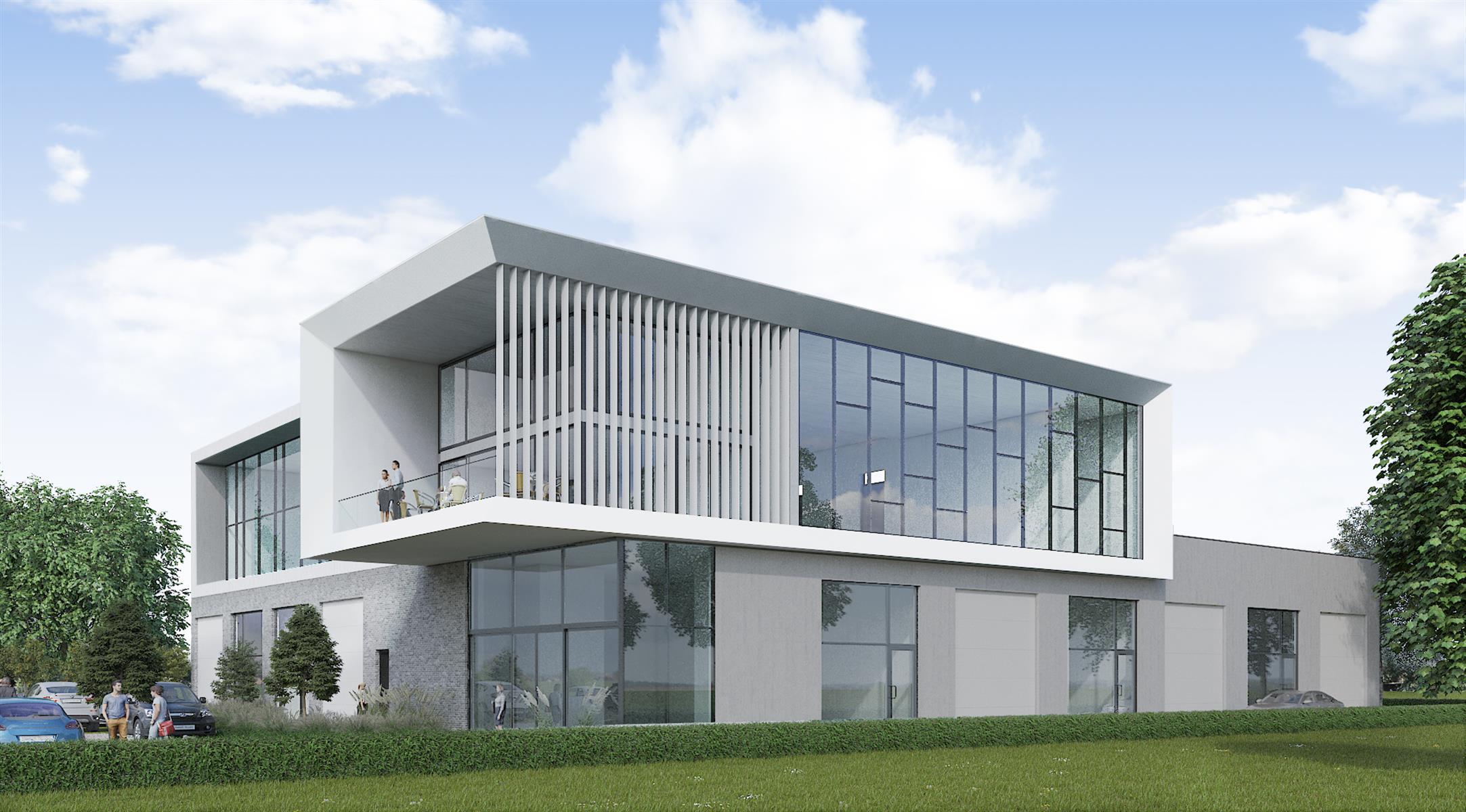 industrieel gebouw te huur NIEUWBOUW KMO UNIT/KANTOOR MET MAGAZIJN/806m²) - 3200 Aarschot, België 3