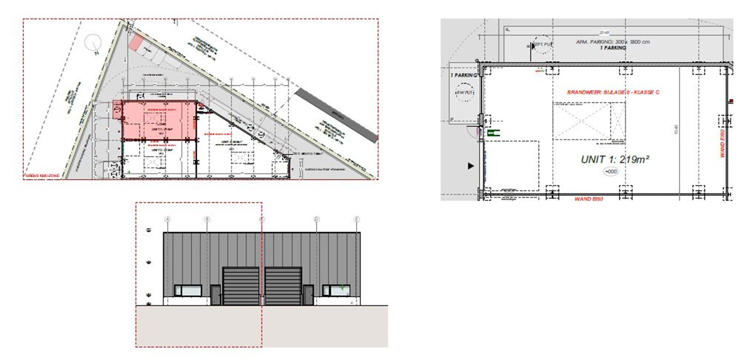 KMO-unit te koop 2 KMO  UNITS 219m² MET INGEBOUWD KANTOOR VAN 24m² Wechelsebaan 151-155