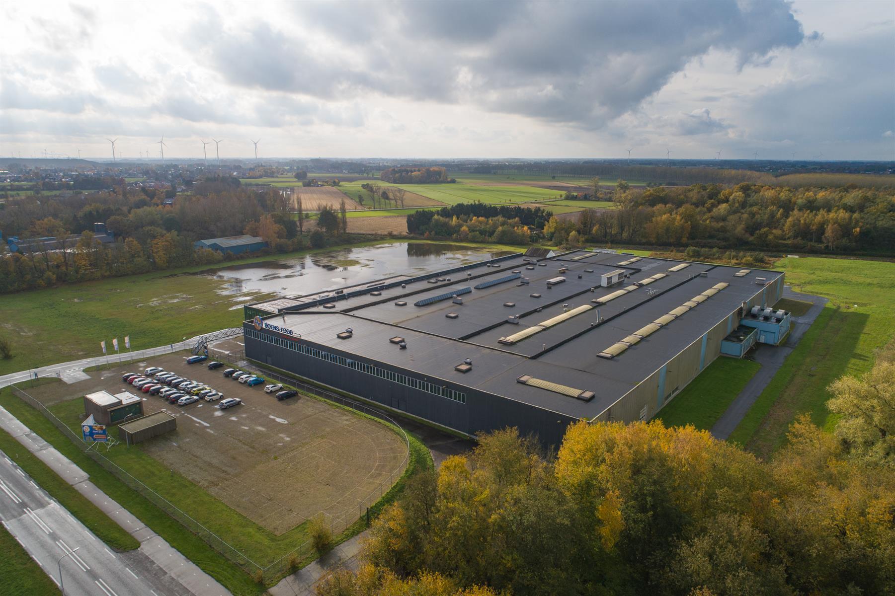 industrieel gebouw te koop Grootschalige Productie en Oplaglocatie Westkade 20