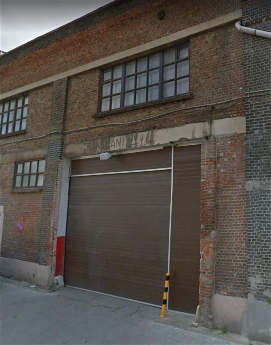 opslagplaats te huur Magazijn met kantoor en automatische poort Joossensgang 12