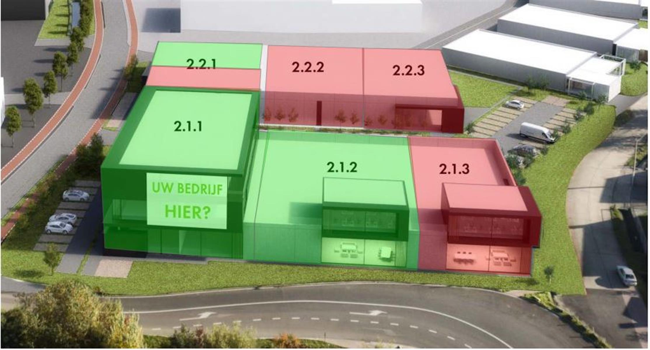 KMO-unit te koop BOLLAARPARK LIER PROJECTGROND OP PLAATS UNIT 2.1.1 - Bollaarstraat 6, 2500 Lier, België 2
