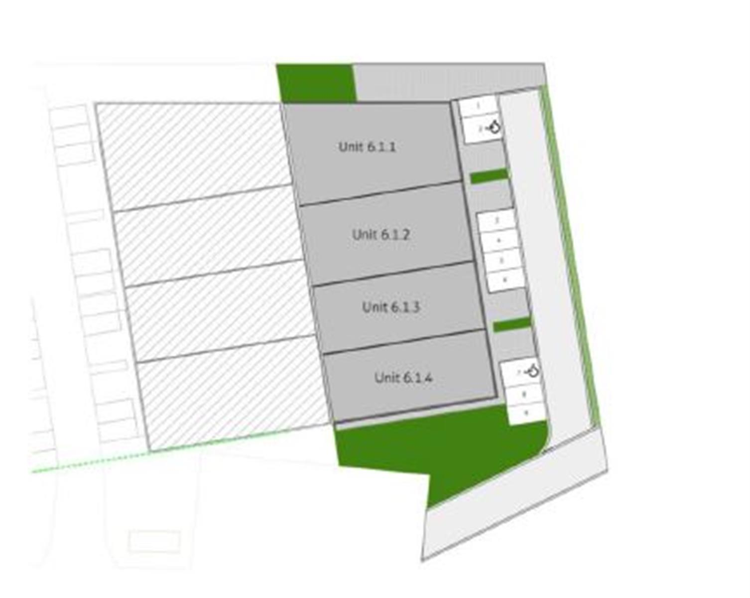 KMO-unit te koop UNIT 6.1.2 Bollaarstraat 6