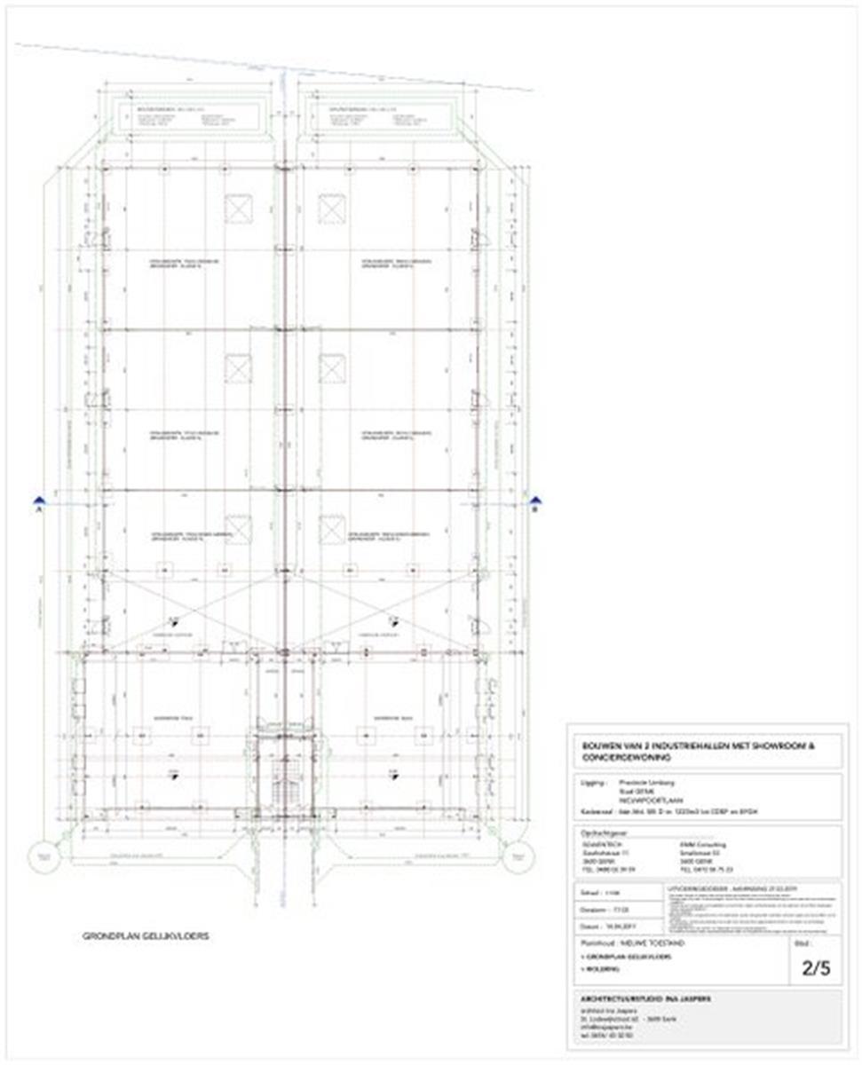 industrieel gebouw te koop I120 - Industriehal - Nieuwpoortlaan 15 A, 3600 Genk, België 12