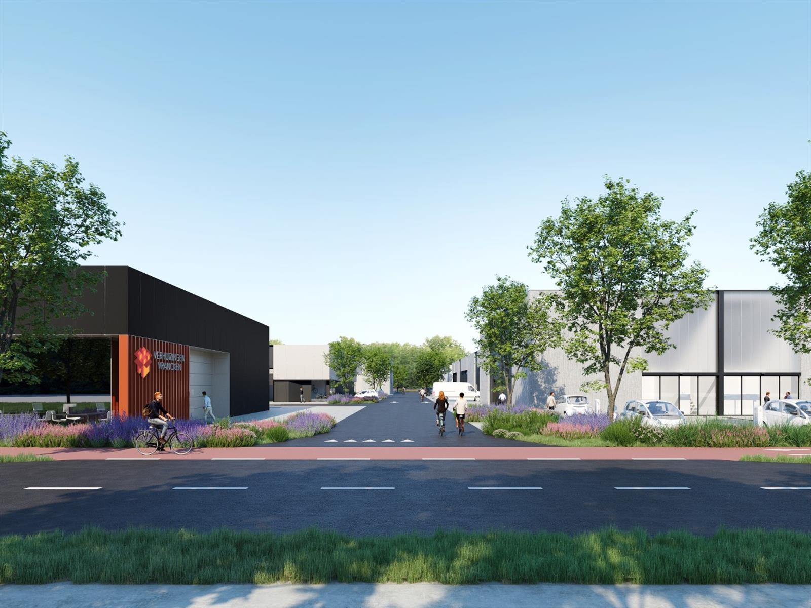 KMO-unit te koop Heros Businesspark KMO Unit 10 - Herkenrodesingel 10, 3500 Hasselt, België 1