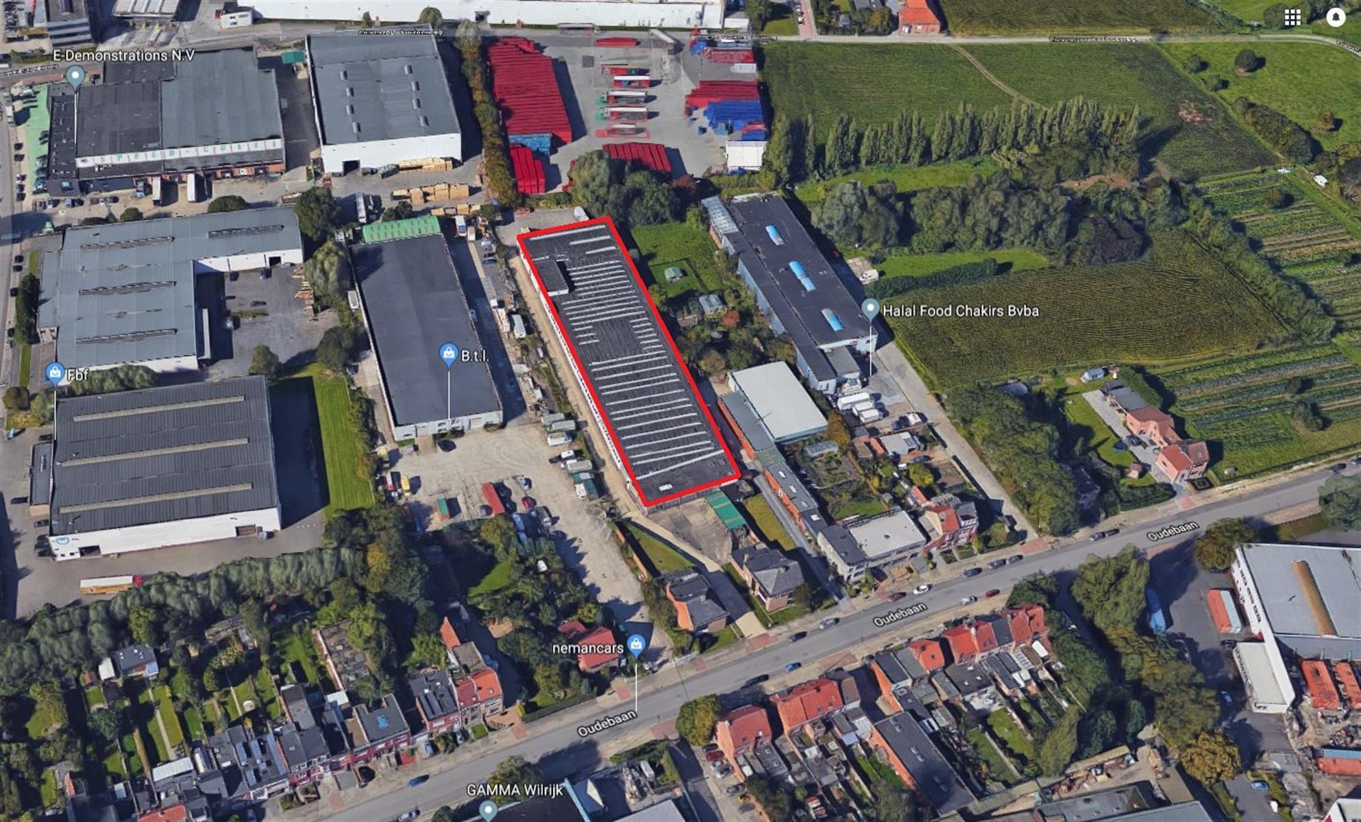 opslagplaats verkocht Oudebaan 140 Oudebaan 138